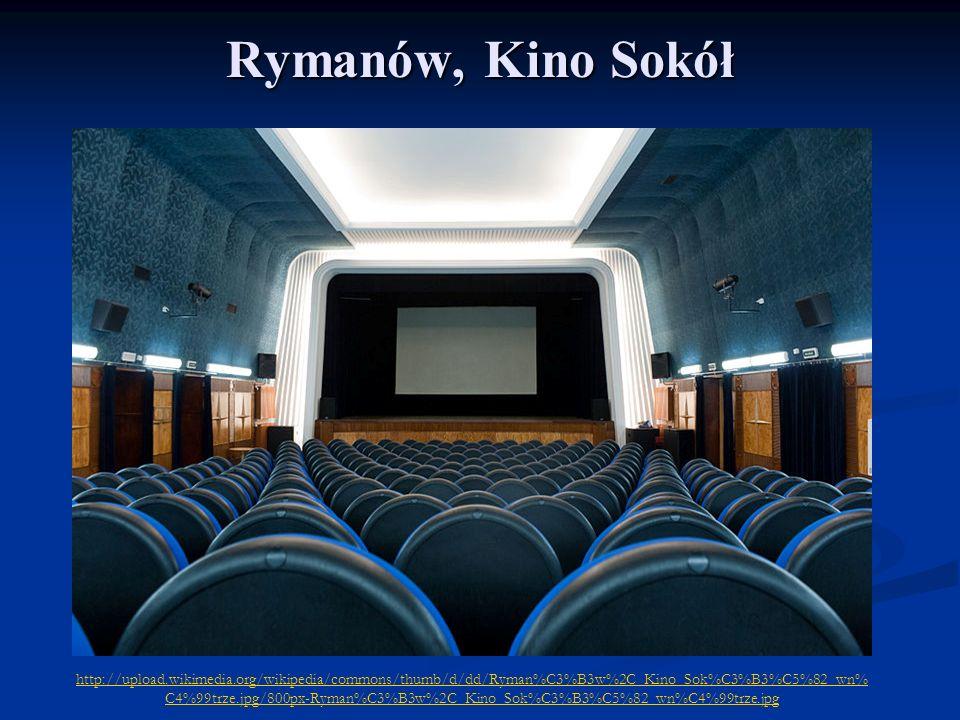 Rymanów, Kino Sokół