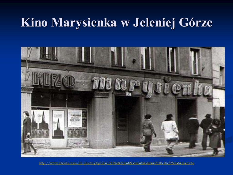 Kino Marysienka w Jeleniej Górze