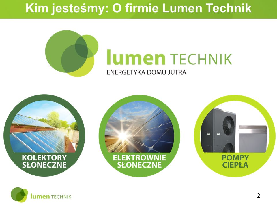 Kim jesteśmy: O firmie Lumen Technik