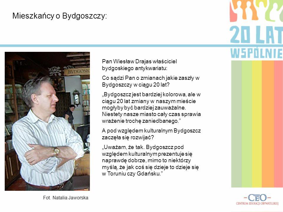 Mieszkańcy o Bydgoszczy: