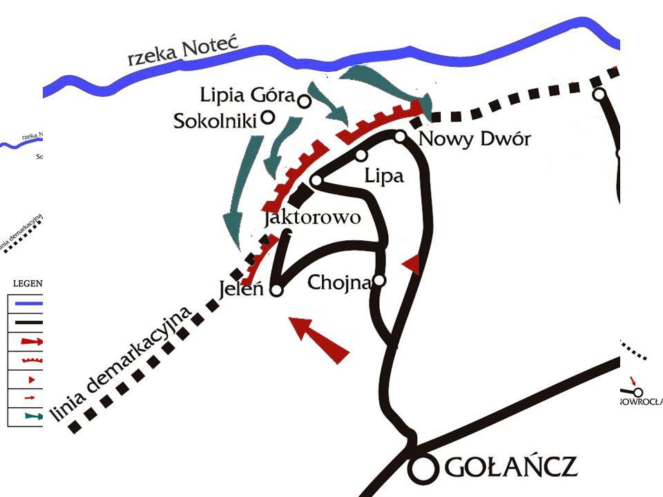 . III-V 1919 – udział w walkach na V odcinku frontu północnego (Jaktorowo, Nowy Dwór, Jeleń)