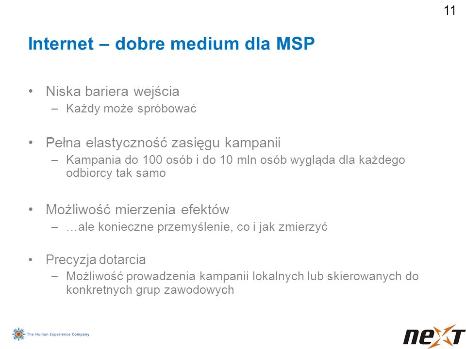 Internet – dobre medium dla MSP