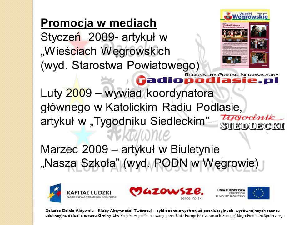 """""""Wieściach Węgrowskich (wyd. Starostwa Powiatowego)"""