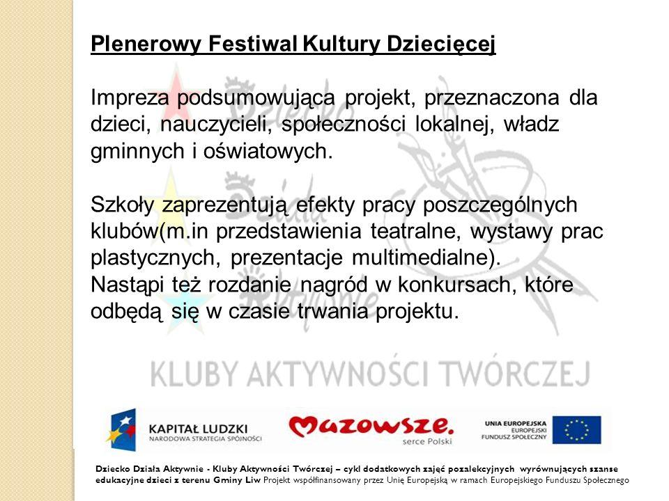 Plenerowy Festiwal Kultury Dziecięcej
