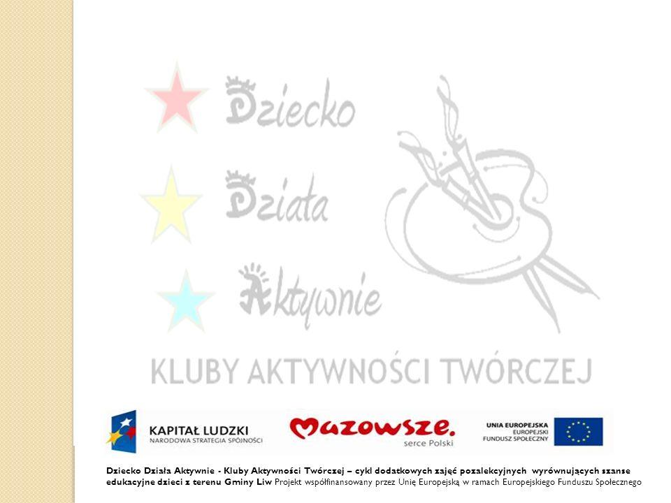 Dziecko Działa Aktywnie - Kluby Aktywności Twórczej – cykl dodatkowych zajęć pozalekcyjnych wyrównujących szanse