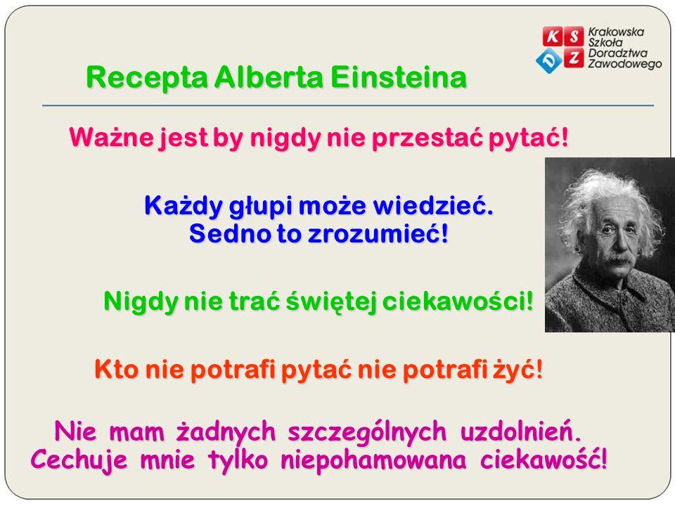Recepta Alberta Einsteina