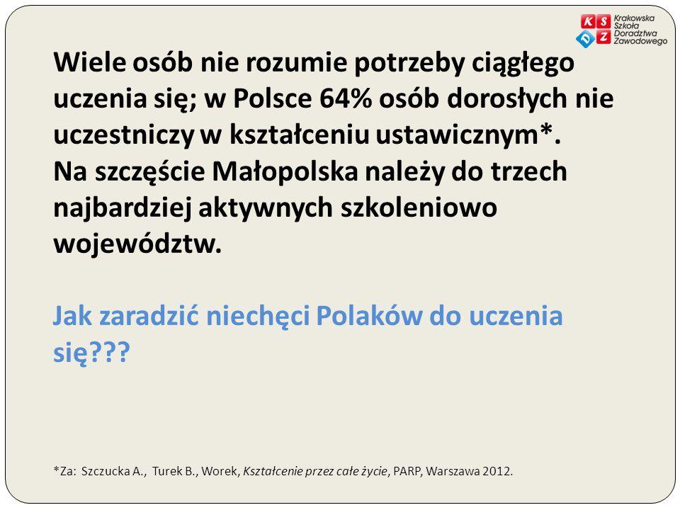 Jak zaradzić niechęci Polaków do uczenia się