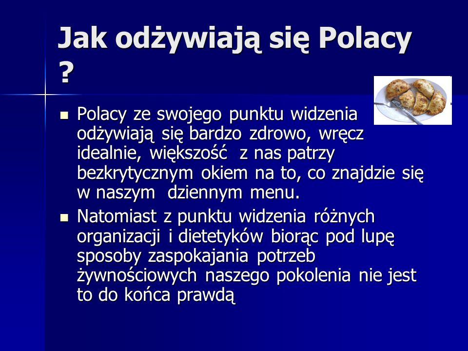 Jak odżywiają się Polacy
