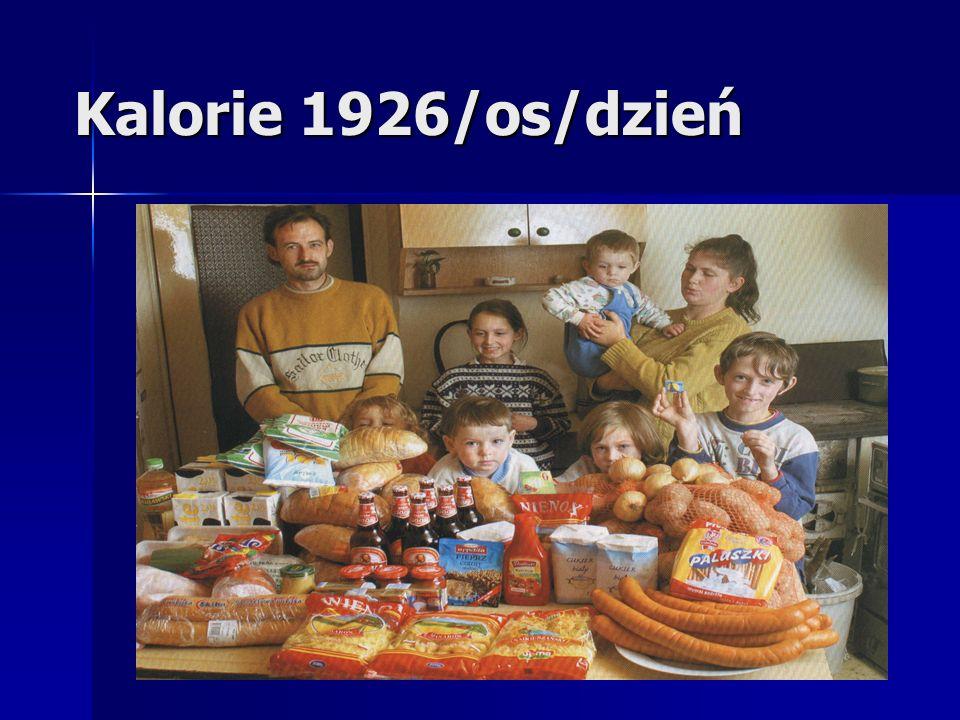 Kalorie 1926/os/dzień