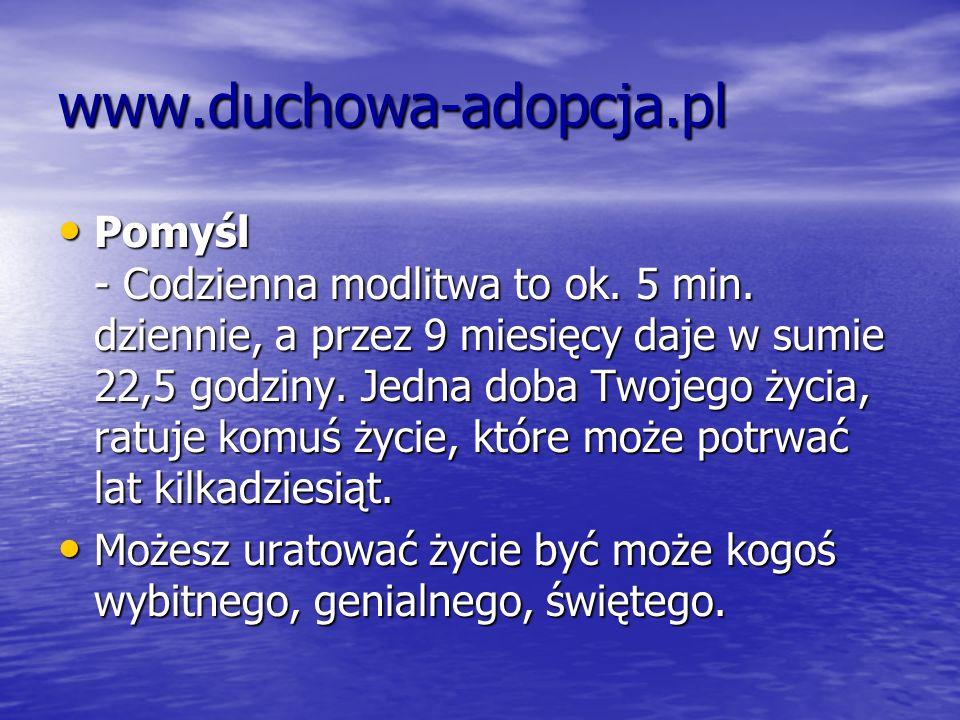www.duchowa-adopcja.pl