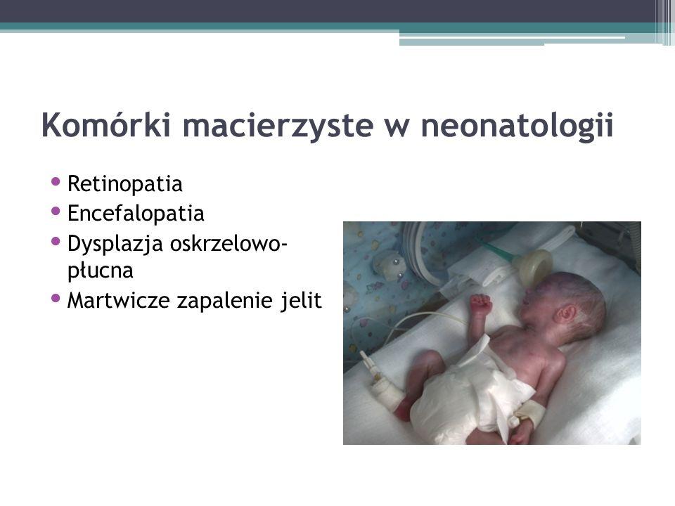 Komórki macierzyste w neonatologii