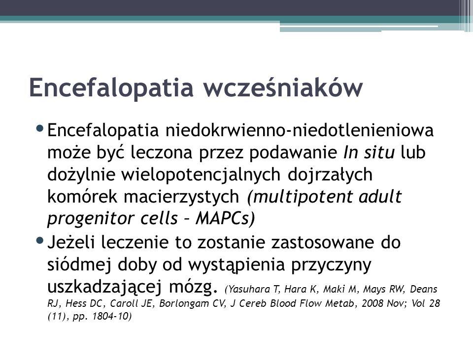 Encefalopatia wcześniaków