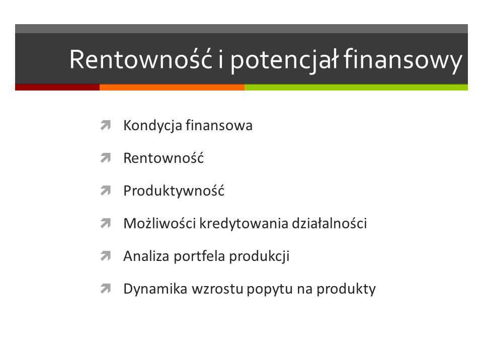 Rentowność i potencjał finansowy