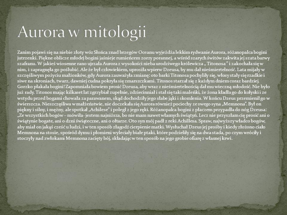 Aurora w mitologii