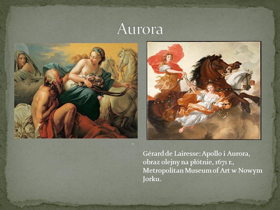 Aurora . Gérard de Lairesse: Apollo i Aurora,
