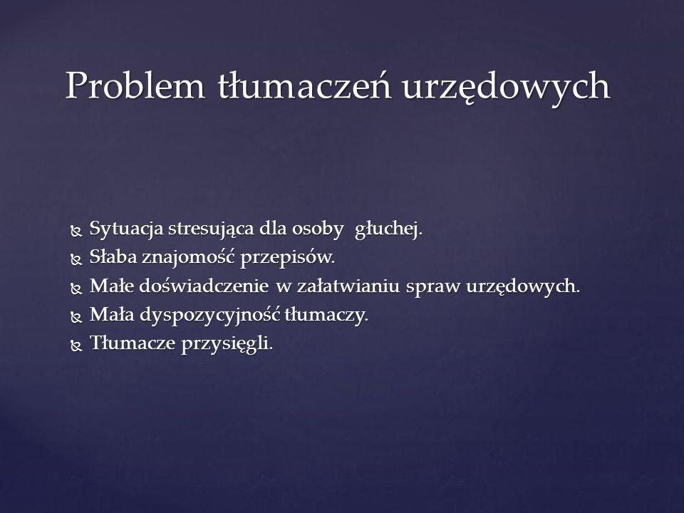 Problem tłumaczeń urzędowych