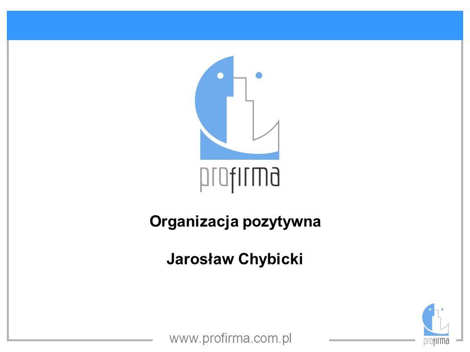 Organizacja pozytywna
