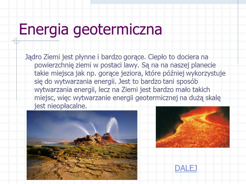 Energia geotermiczna DALEJ
