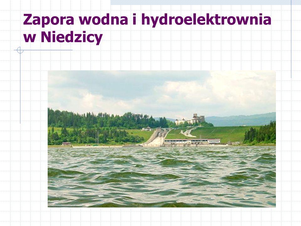Zapora wodna i hydroelektrownia w Niedzicy