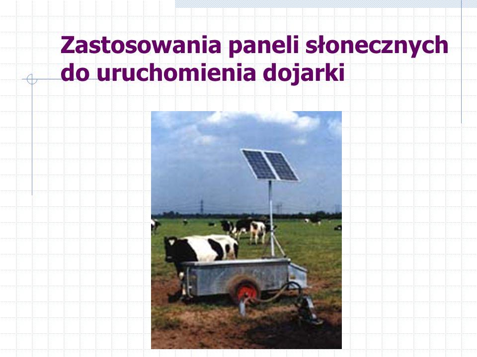 Zastosowania paneli słonecznych do uruchomienia dojarki