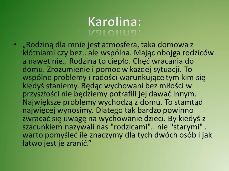 Karolina: