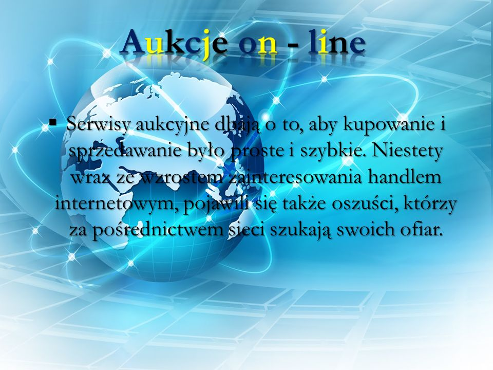 Aukcje on - line