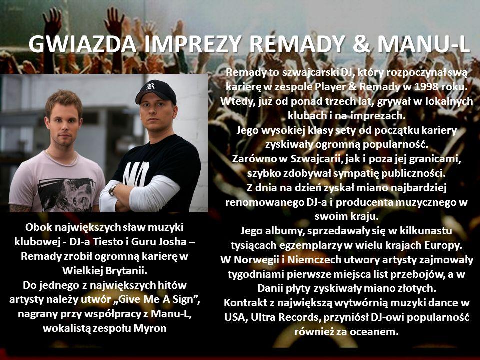GWIAZDA IMPREZY REMADY & MANU-L