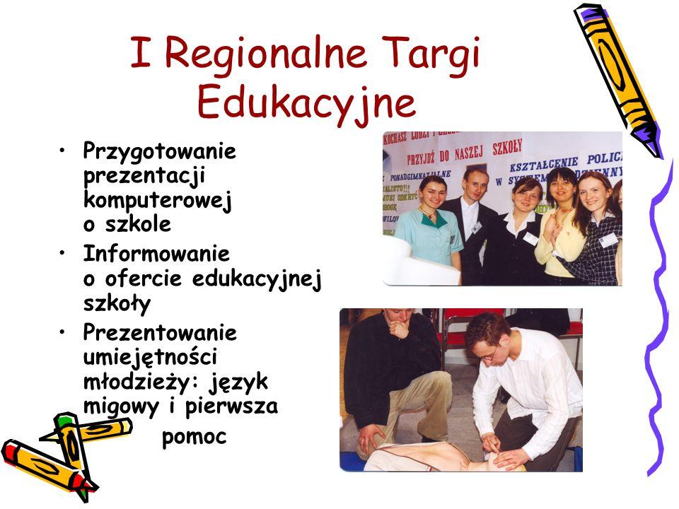 I Regionalne Targi Edukacyjne