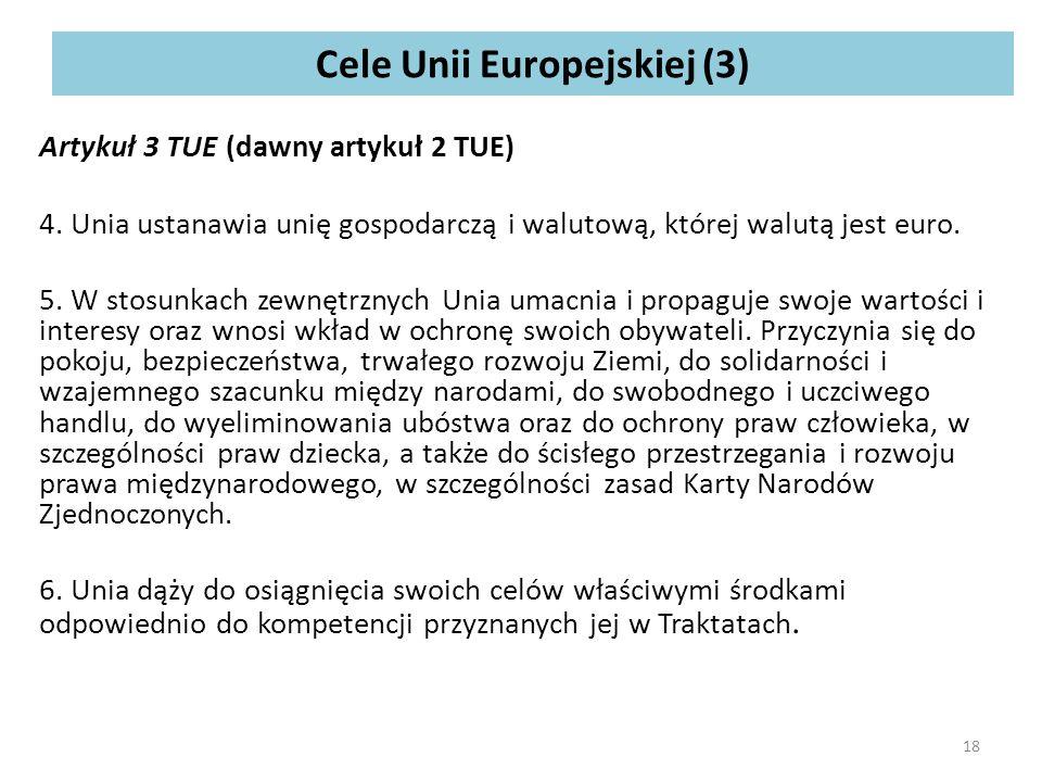 Cele Unii Europejskiej (3)