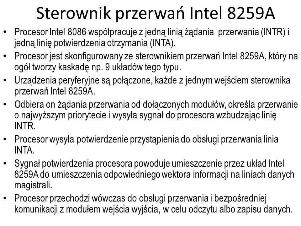 Sterownik przerwań Intel 8259A