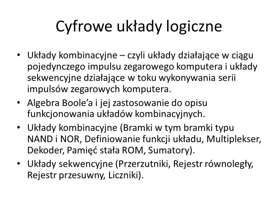 Cyfrowe układy logiczne
