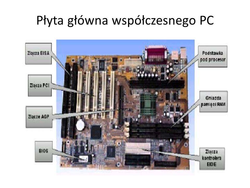 Płyta główna współczesnego PC