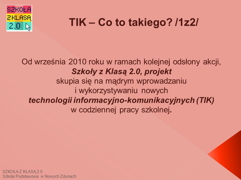 TIK – Co to takiego /1z2/