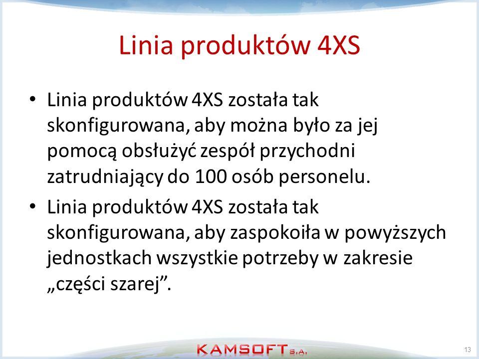 Linia produktów 4XS