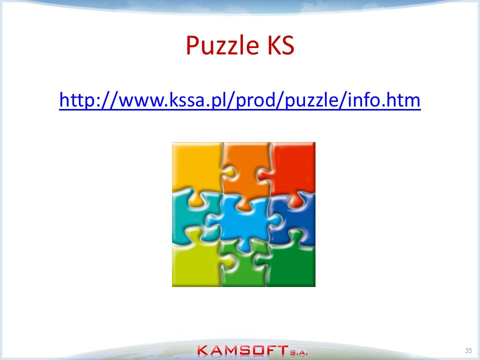Puzzle KS http://www.kssa.pl/prod/puzzle/info.htm