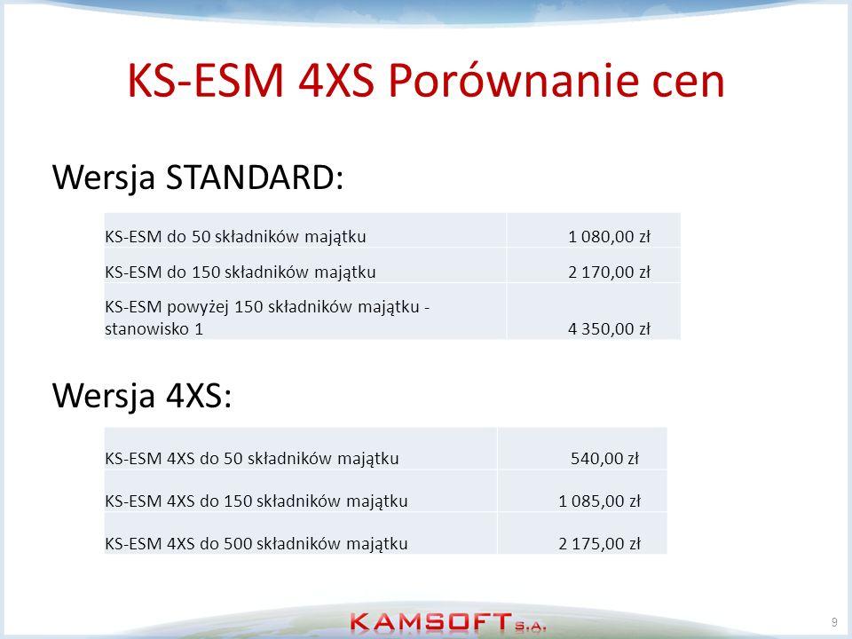 KS-ESM 4XS Porównanie cen