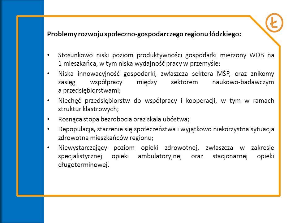 Problemy rozwoju społeczno-gospodarczego regionu łódzkiego: