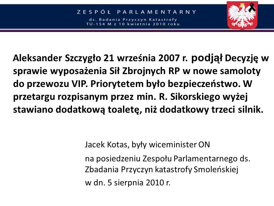 Jacek Kotas, były wiceminister ON
