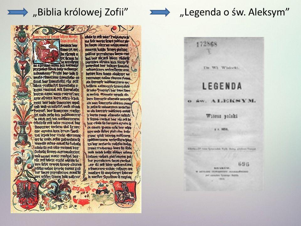 """""""Biblia królowej Zofii"""