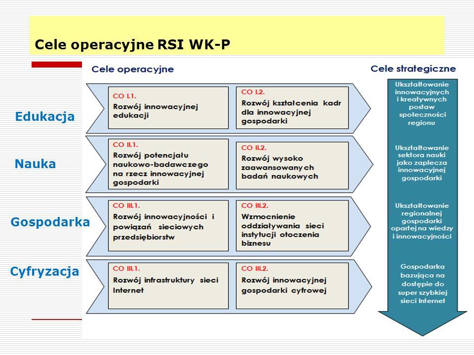 Cele operacyjne RSI WK-P