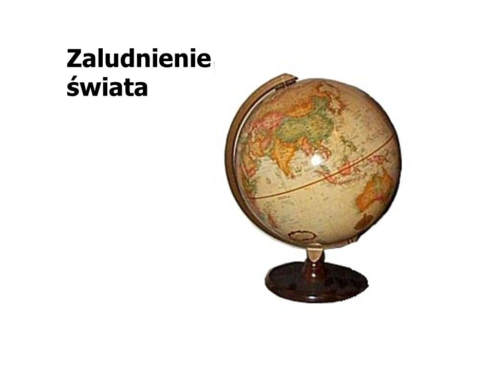 Zaludnienie świata