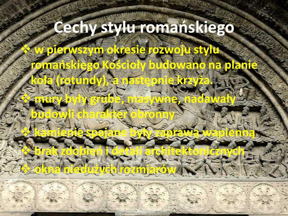 Cechy stylu romańskiego