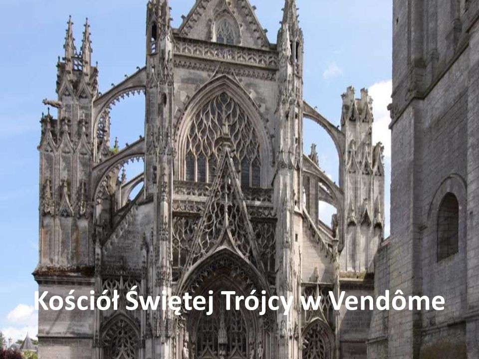 Kościół Świętej Trójcy w Vendôme