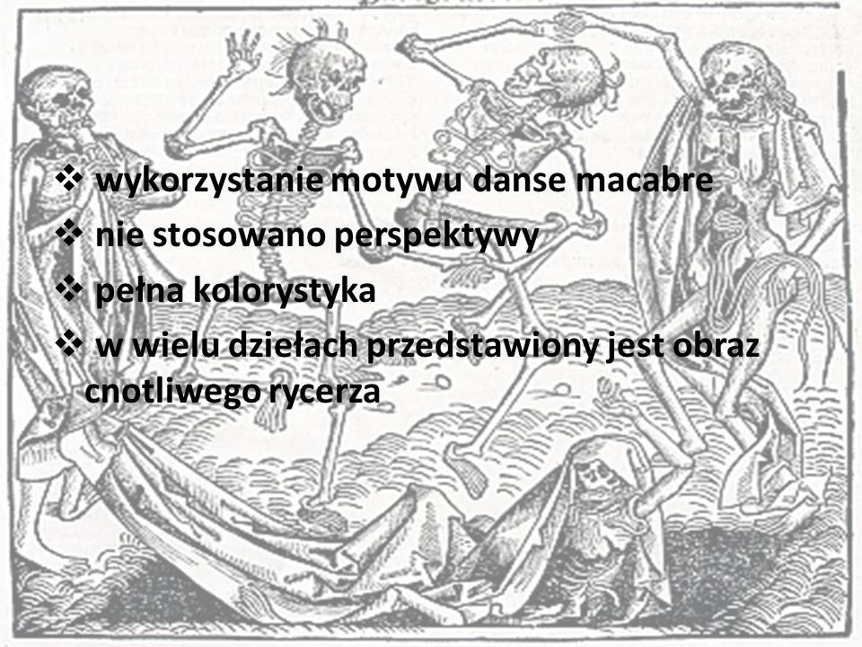 wykorzystanie motywu danse macabre