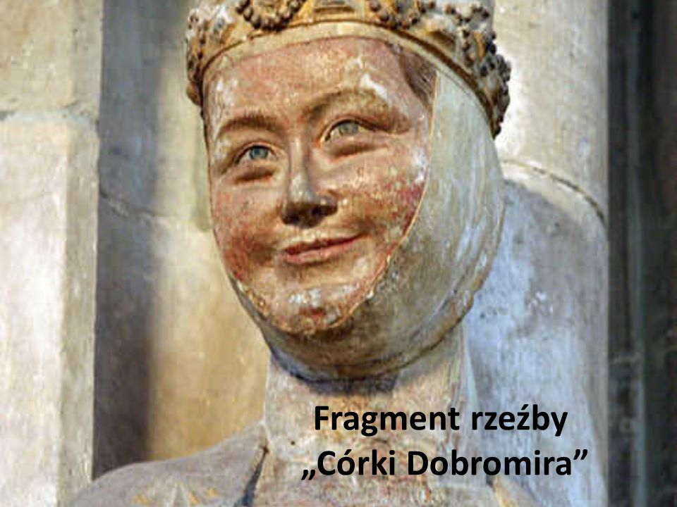 "Fragment rzeźby ""Córki Dobromira"