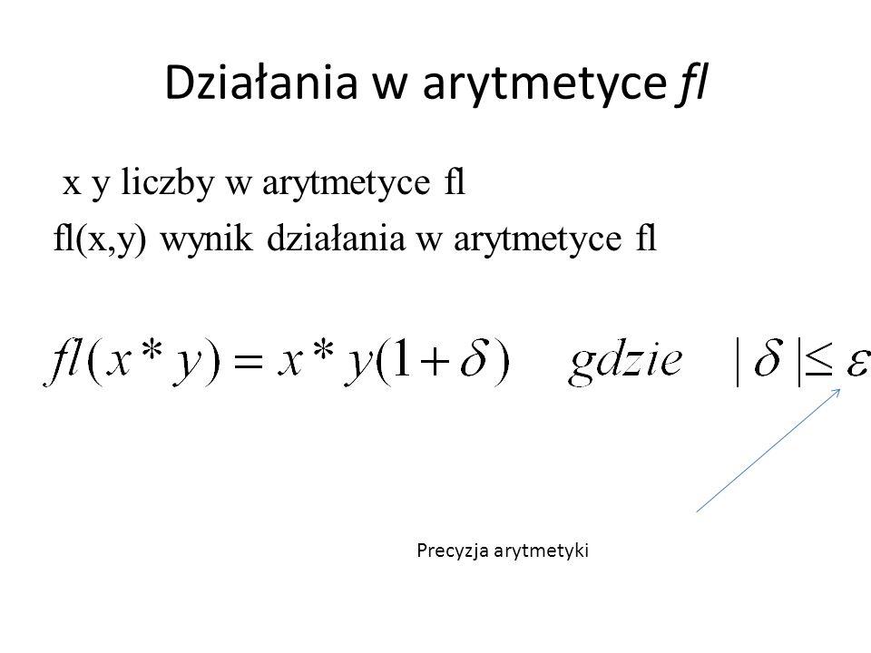 Działania w arytmetyce fl