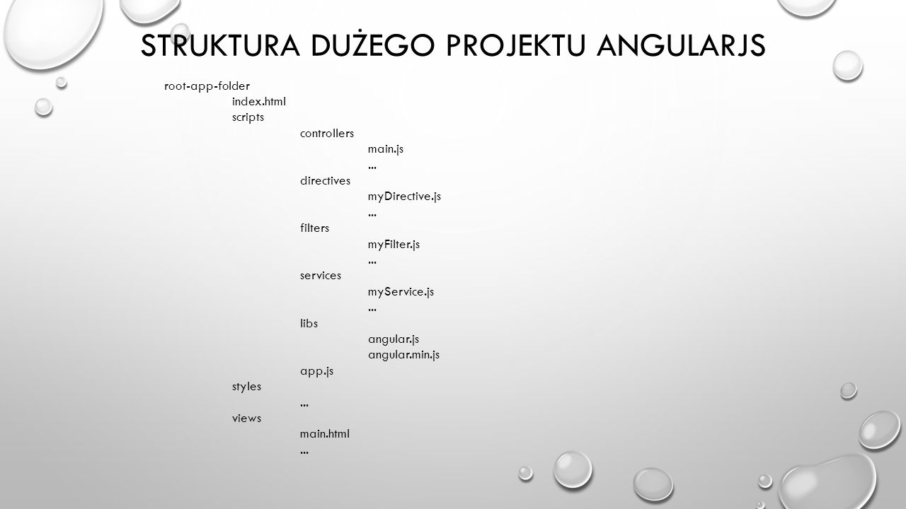 Struktura Dużego projektu Angularjs