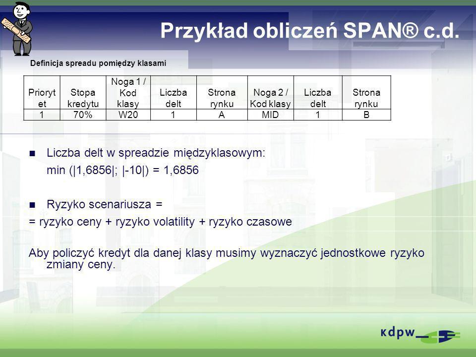 Przykład obliczeń SPAN® c.d.