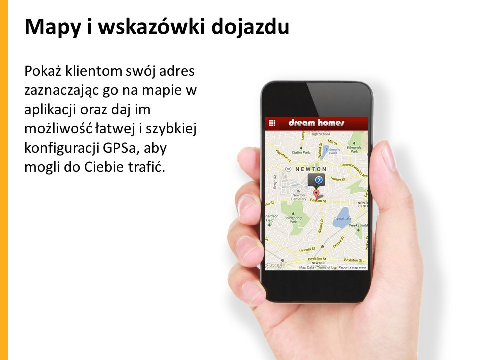 Mapy i wskazówki dojazdu