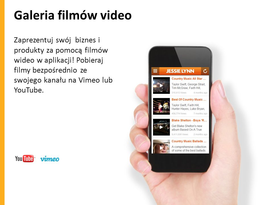 Galeria filmów video